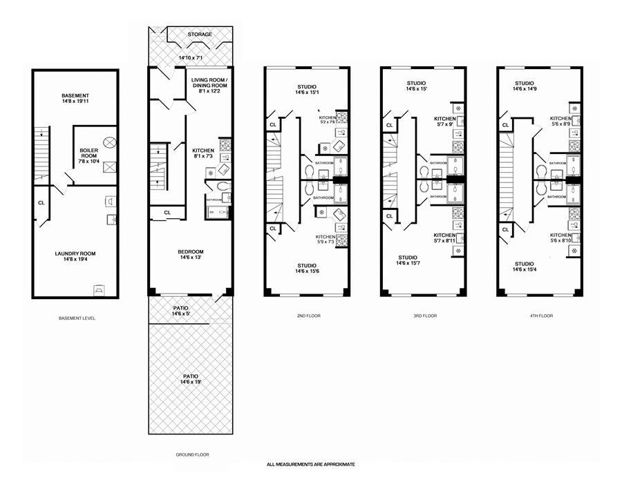 254 E 33rd street 9 floor plan
